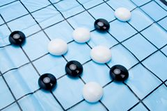 Weiqi,the game of go Royalty Free Stock Photo