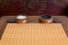 Weiqi, il gioco di va Fotografia Stock