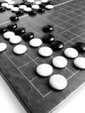 Weiqi oder gehen das stategy Spiel Lizenzfreies Stockbild