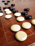 Weiqi Or Go Game Strategies Royalty Free Stock Photography