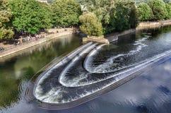 Weir λουτρών Αγγλία Στοκ Εικόνες