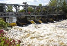Weir de peixes em Marsh Locks Henley-em-Tamisa Imagem de Stock Royalty Free