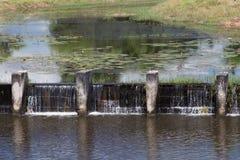 Weir irrigate Royalty Free Stock Photos