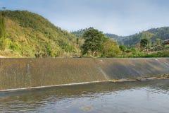 Weir irrigate Royalty Free Stock Image