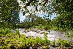 Weir perto de Weldon Fotografia de Stock Royalty Free