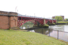 Weir And Pipe Bridge - 1901 Royalty Free Stock Photo