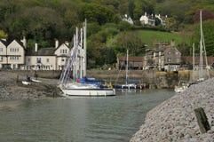 Weir Porlock λιμάνι στοκ φωτογραφίες με δικαίωμα ελεύθερης χρήσης