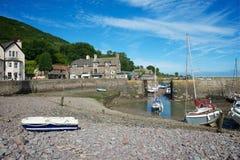Weir Porlock, Somerset, UK Στοκ φωτογραφίες με δικαίωμα ελεύθερης χρήσης
