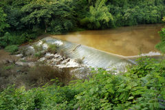 Weir to irrigate Stock Photos