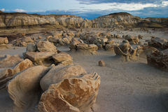 Weird Bisti Wilderness Royalty Free Stock Photo