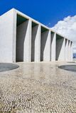 Weird cement monument structure Royalty Free Stock Images