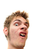 Weird Facial Expression Royalty Free Stock Image
