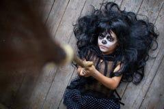 Weird girl Stock Images
