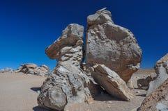 Weird rocks formation in Sur Lipez, South Bolivia Stock Photo