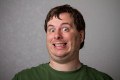 Weirdo guy Royalty Free Stock Photography