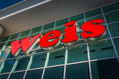 Weis Store Exterior Sign Royalty Free Stock Images