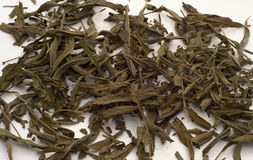 Weise Teeblätter Stockfotografie