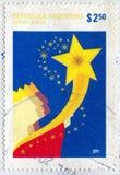 Weise und ein Stern Stockfotografie