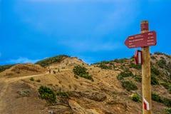 Weise zu Vallehermoso-Strand Stockfoto
