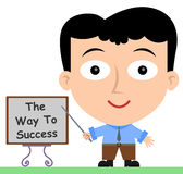 Weise zum Erfolg Lizenzfreies Stockfoto