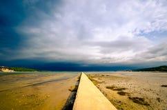 Weise zum See Stockfoto