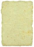 Weises Pergament/Papyrus/Pergament Lizenzfreies Stockfoto