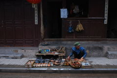 Weishan old  town in southwest  china Royalty Free Stock Image
