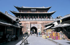 Weishan old  town in southwest  china Stock Images