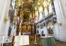 Weiskirche interior Royalty Free Stock Image
