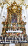 Weiskirche interior Royalty Free Stock Images