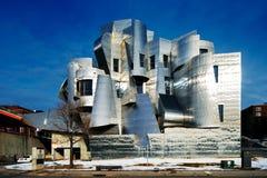 Weisman美术馆,明尼苏达大学在米尼亚波尼斯,美国 免版税库存照片