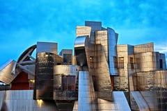 Weisman美术馆,明尼苏达大学校园,米尼亚波尼斯 免版税库存图片