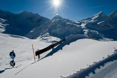 Weiss-vea el mundo 3 del glaciar Imagen de archivo libre de regalías