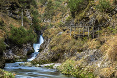 Weissbach gorge Royalty Free Stock Photo