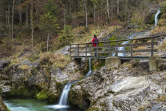 Weissbach gorge Royalty Free Stock Photos
