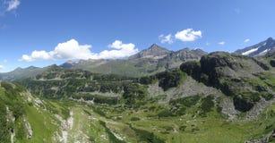 Weissee, Hohe tauern, Autriche Photos libres de droits