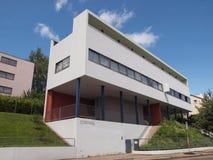 Weissenhof Siedlung a Stuttgart Fotografia Stock Libera da Diritti