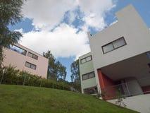 Weissenhof Siedlung a Stuttgart Fotografie Stock Libere da Diritti