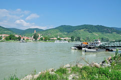 Weissenkirchen,Danube River,Wachau Valley,Austria Stock Photos