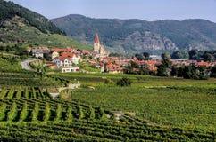 Weissenkirchen em Wachau Imagem de Stock