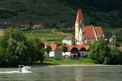 Weissenkirchen en Wachau, Austria Fotos de archivo