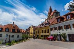 Weissenkirchen im der Wachau lizenzfreies stockbild