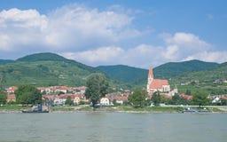 Weissenkirchen Wachau dal, Österrike Royaltyfri Bild