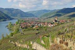 Weissenkirchen in Wachau Stock Images