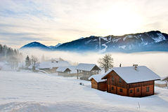 Weissensee - Mountain Lake In Austria Royalty Free Stock Photography