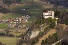 Weissenstein Castle in ski resort Matrei in Osttirol, Austria Stock Photos