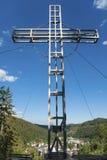 Weissenstein Cross also Tosca Cross in Sankt Blasien Royalty Free Stock Images