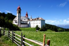 Weissenstein-Pietralba Heiligdom Sudtirol Stock Foto's
