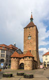 Weisser Turm in Nuremberg, Germany Stock Photography