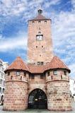 Weisser Turm in Nuremberg Stock Images